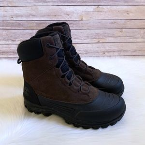 Timberland Brown Waterproof Snowblades Lined Boots